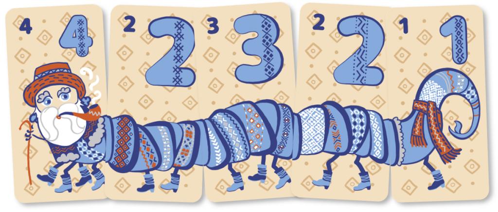 Дідо Гриньо, приклад карток. Гра 40ніжок від Malvy.Games.