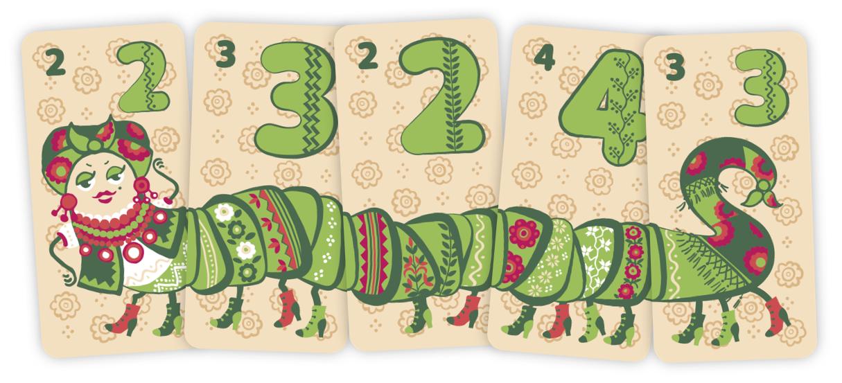 Пані Дзвінка 5 карт