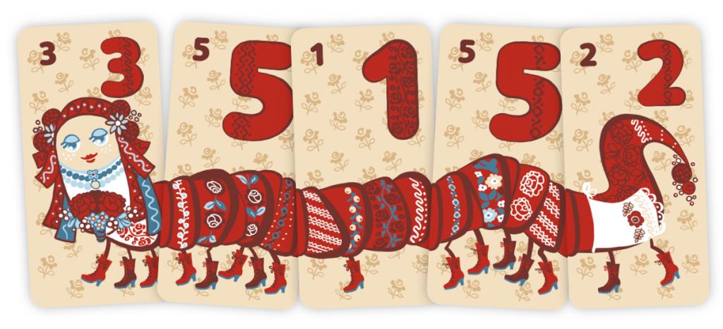 Панна Міля 5 карток.